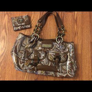 Sharif handbag and wallet